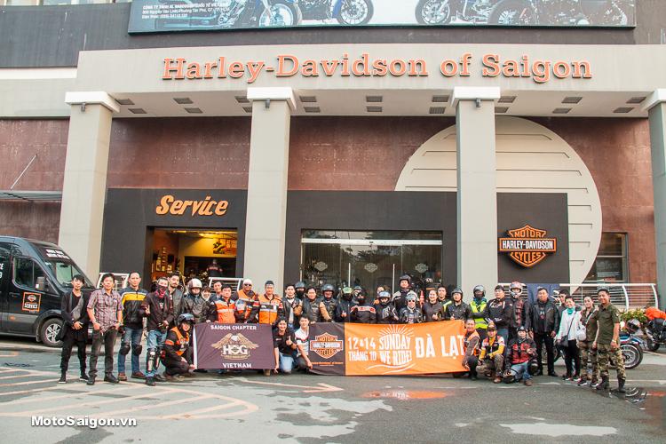 Sunday We Ride tháng 10 nghỉ dưỡng tại Đà Lạt cùng Harley-Davidson