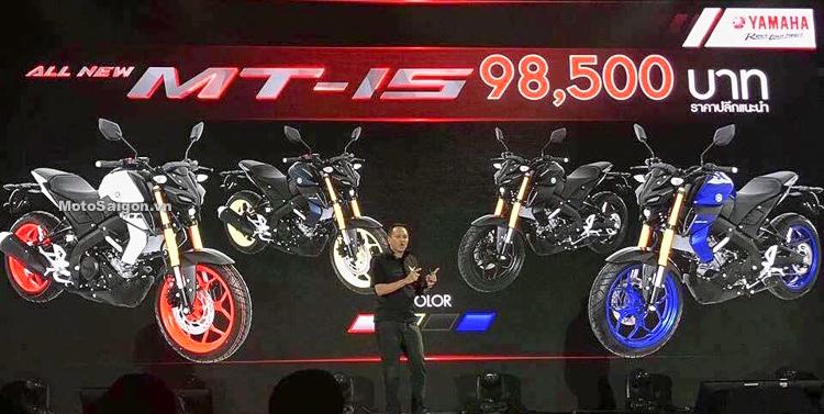 Yamaha MT-15 2019 TFX150 hoàn toàn mới đã có giá bán