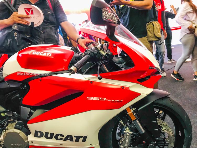 Ducati Panigale 959 Corse xuất hiện tại Sepang MotoGP 2018