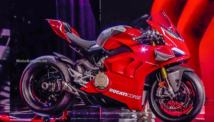 Siêu phẩm Ducati Panigale V4 R 2019 chính thức ra mắt 165 Kg - 234 Hp