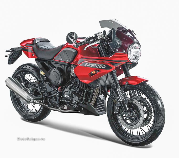 GPX Gentleman Racer 200 chính thức ra mắt với giá hơn 50 triệu đồng