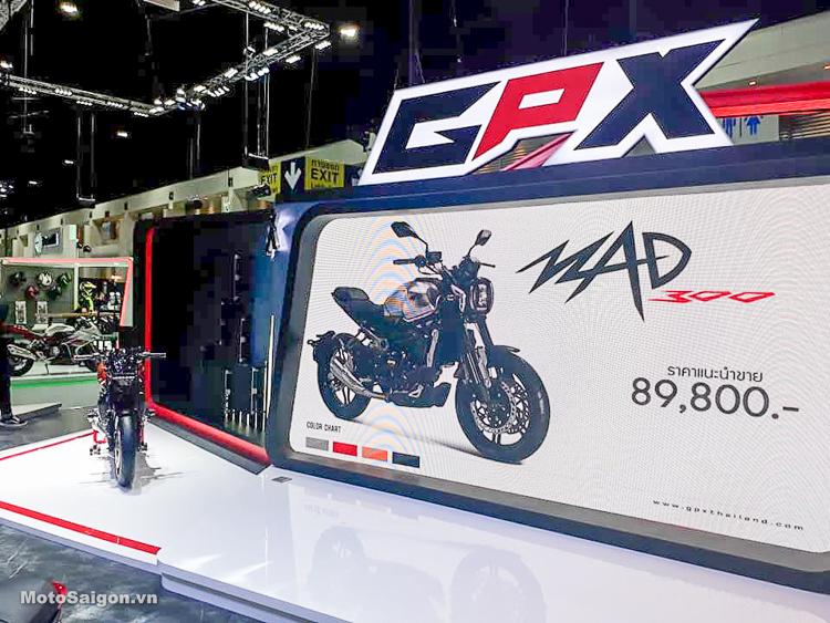 GPX MAD 300 hoàn toàn mới chính thức trình làng với giá bán cực sốc