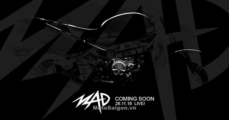 GPX MAD 300 mẫu xe hoàn toàn mới của Thái Lan sắp trình làng