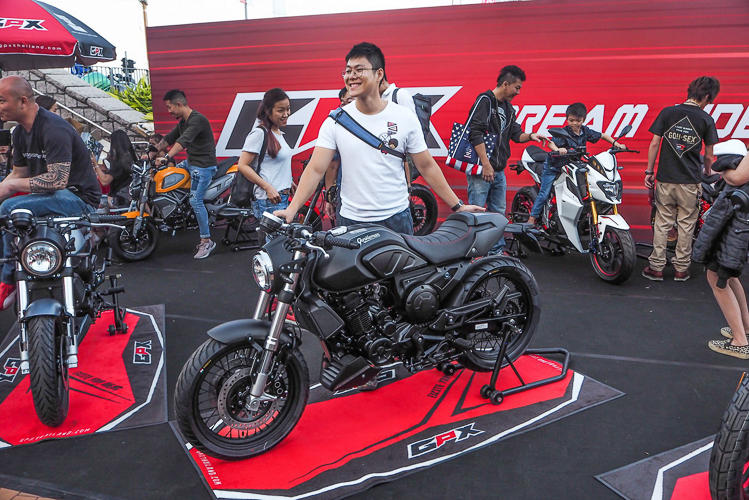 GPX Racing mang 6 mẫu xe đến Motorcycle Show 2018 tại Hồng Kông
