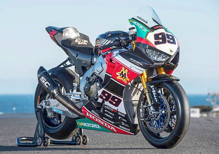 Honda CBR1000RR SP2 phiên bản đường đua WSBK giá hơn 1 tỉ