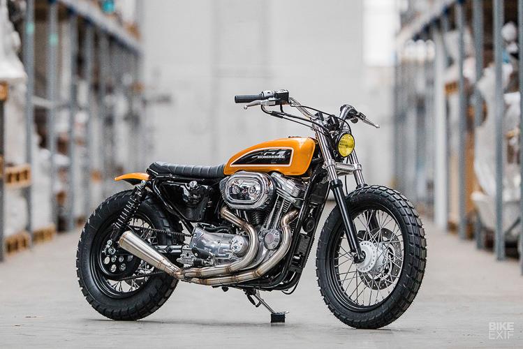 Chiêm ngưỡng bản độ cực chất của Harley-Davidson Sportster 883 đời 2003