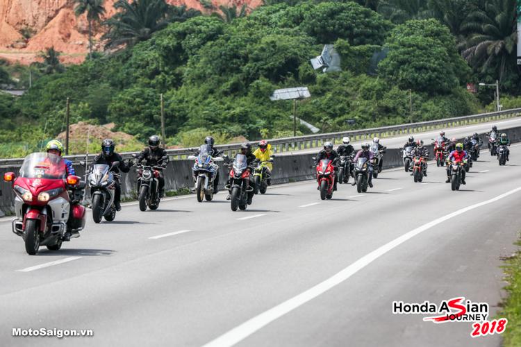 Honda Asian Journey 2018: 600 Bikers vượt 500 km trên đất Malaysia