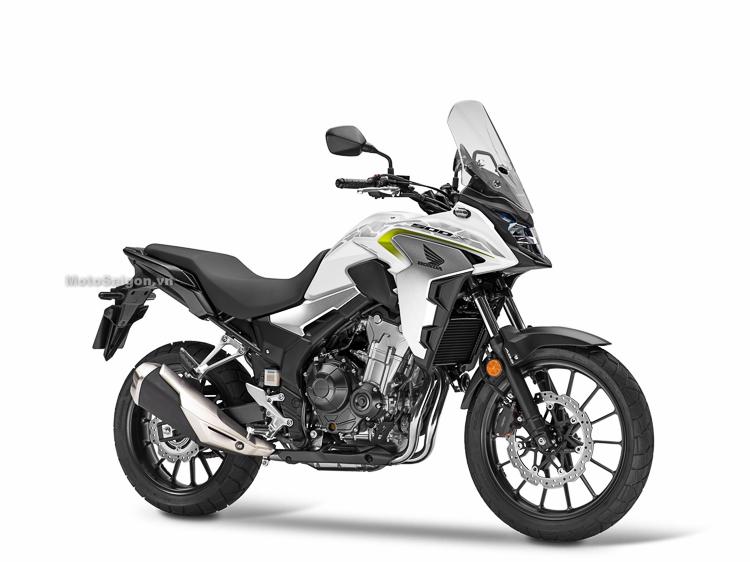 Honda CB500X 2019 màu trắng