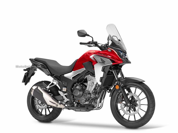 Honda CB500X 2019 màu đỏ