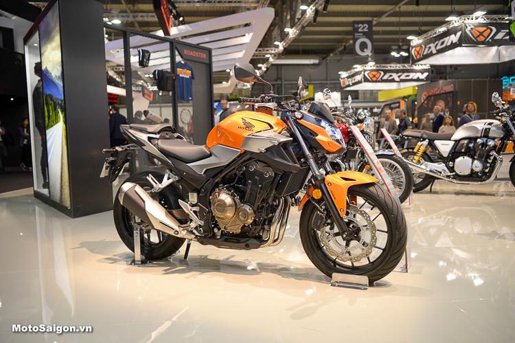 Chi tiết Honda CB500F 2019 hoàn toàn mới cải tiến thiết kế lẫn động cơ