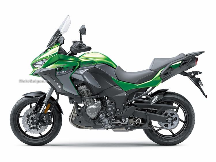 Kawasaki Versys 1000 2019 phiên bản mới chính thức trình làng
