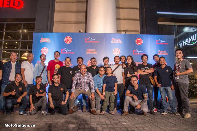 Royal Enfield mừng kỷ niệm 1 năm có mặt tại Việt Nam bằng 2 siêu phẩm xe độ