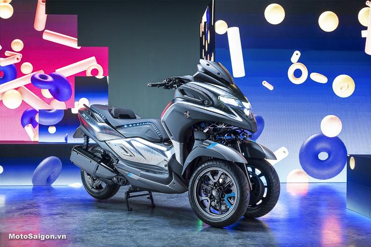 Yamaha 3CT mẫu xe moto 3 bánh hoàn toàn mới tại EICMA 2018