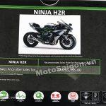 Giá bán Kawasaki Ninja H2R