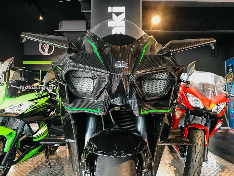 Chạm Tay Siêu Phẩm Ninja H2r 300 Mã Lực Max Speed 400 Kmh Motosaigon