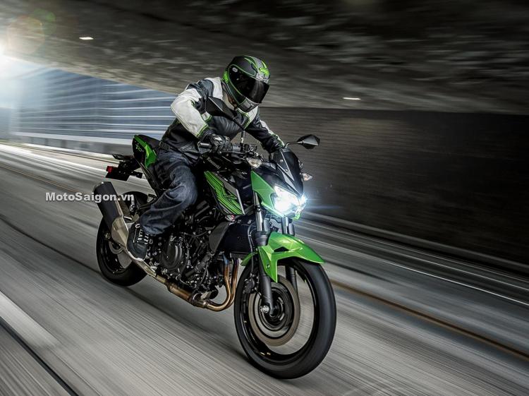 Kawasaki Z400 2019 đẹp hơn mạnh hơn Z300 lộ diện