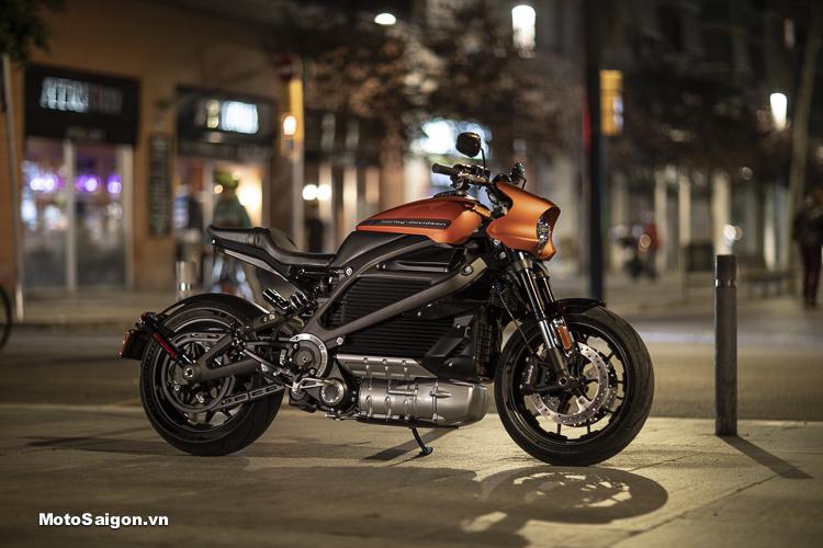Harley-Davidson ra mắt xe moto điện LiveWire 2019 sắp có giá bán