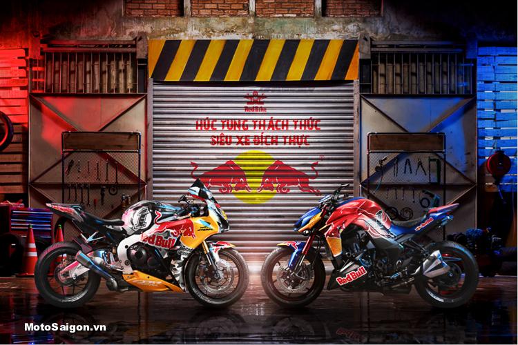 Sở hữu tem trùm Red Bull trên chiếc siêu moto của bạn