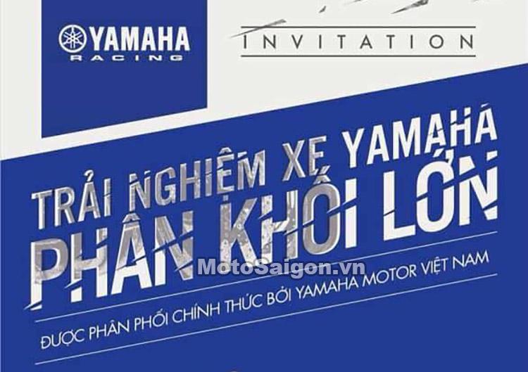 Yamaha Việt Nam sắp công bố giá bán các mẫu xe moto phân khối lớn?