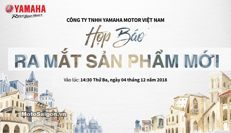 Yamaha Việt Nam hé lộ ngày ra mắt mẫu xe mới 2019