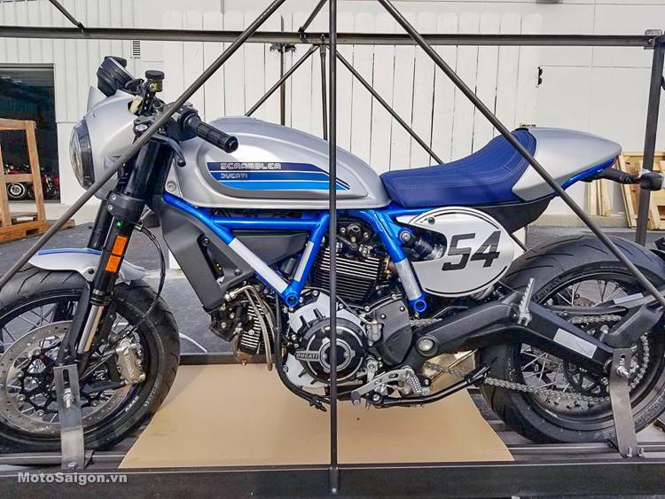 Đập thùng Ducati Scrambler Cafe Racer 2019 hoàn toàn mới sắp có giá bán