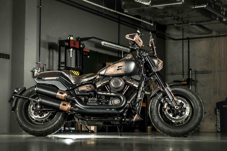 Chiêm ngưỡng bản độ không thể chất hơn của Harley-Davidson Fat Bob