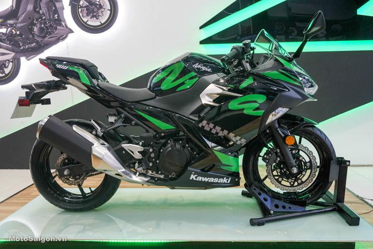 Kawasaki Ninja 400 2019 ABS màu tem mới giá ưu đãi dịp cuối năm