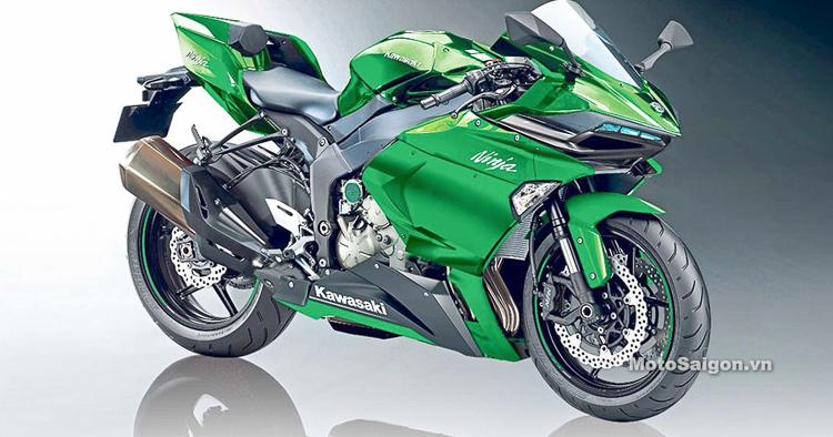 Kawasaki Ninja S2 hoàn toàn mới sử dụng động cơ tăng áp 650cc sắp ra mắt?