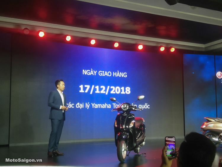 Giá xe Yamaha Grande 2019 chính thức được công bố từ 45 triệu đồng