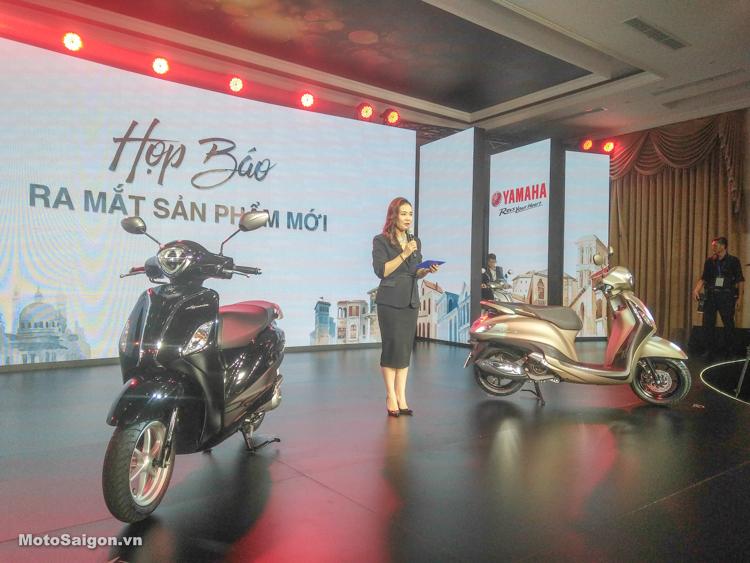 Yamaha Grande 2019 chính thức ra mắt: Hybrid, ABS, Smart key