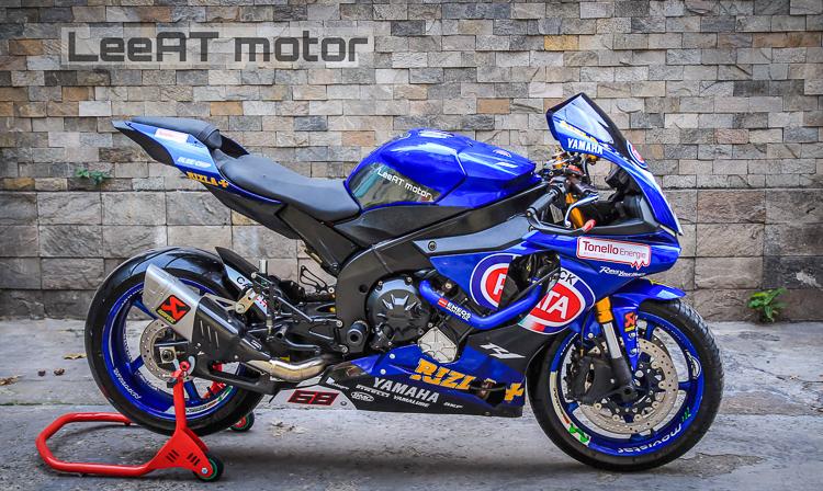 Yamaha R1 2005 độ body R1 2018 cực chuẩn của LeeAT Motor