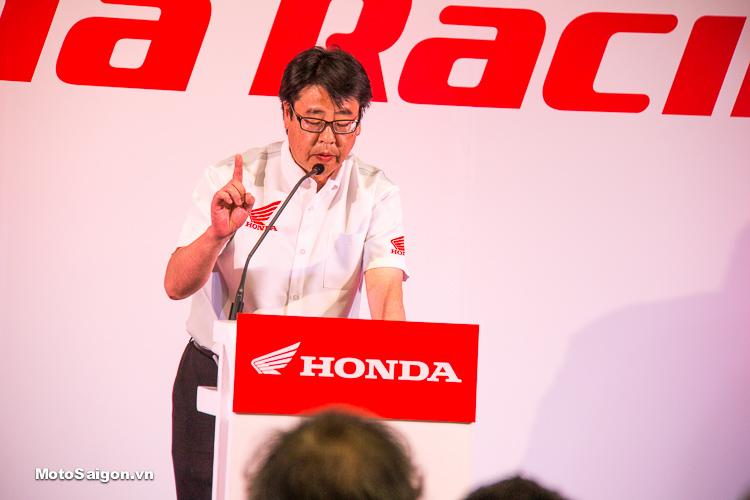 Ông Ryo Takahashi, Tổng giám đốc bộ phận kinh doanh xe máy,Honda khu vực Châu Á