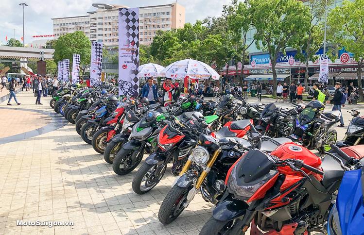Đại hội moto lần 4 quy tụ hàng ngàn chiếc moto pkl tại Cần Thơ