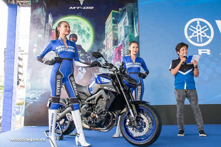 Giá xe Yamaha MT-09 2019 chính hãng với 2 phiên bản màu