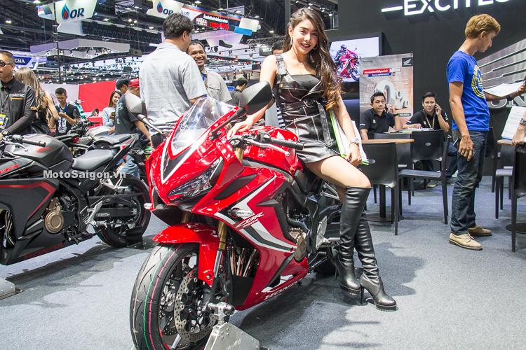 Honda CBR650R 2019 hình ảnh thực tế tại Thái đã có giá bán