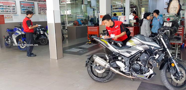 Quy trình khắc phục lỗi Yamaha MT-03 & R3 kèm quà tặng