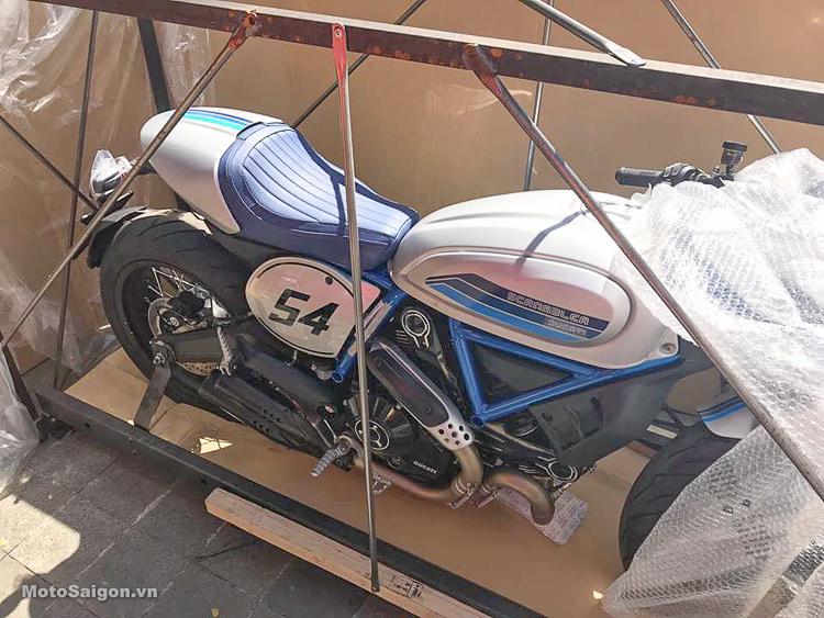 Đập thùng Ducati Scrambler 2019 phiên bản Cafe Racer