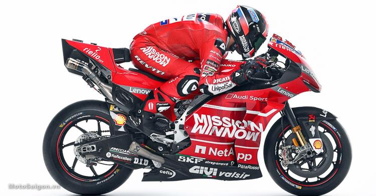 """Đội đua Ducati Team bị kiện vì lắp thêm chi tiết """"lạ"""" trên chiến mã Desmosedici GP19"""
