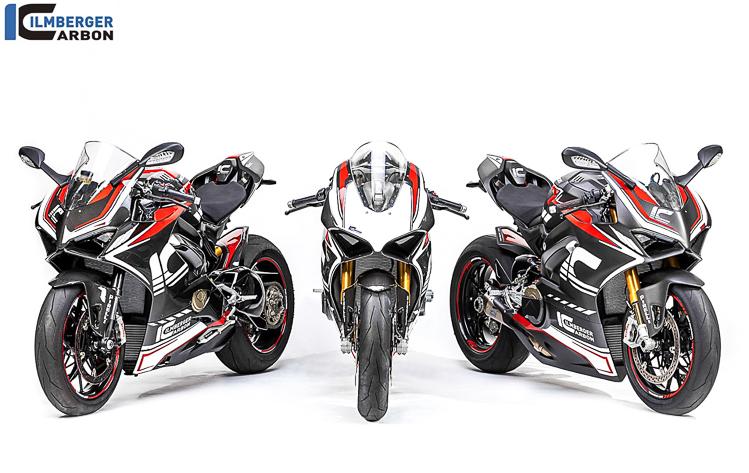 Chiêm ngưỡng 3 phiên bản Full Carbon tuyệt đẹp của Ducati Panigale V4