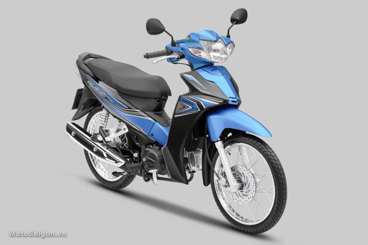 Phiên bản Tiêu chuẩn màu xanh mới của Honda Blade 110 2019