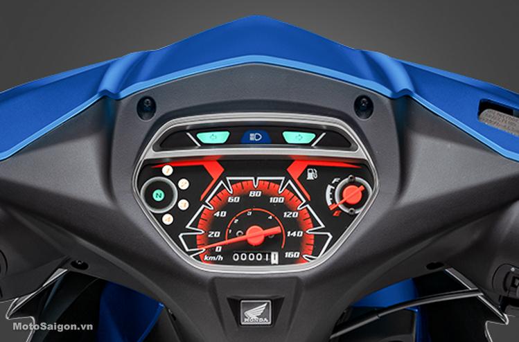 Honda Blade 110 2019 có thiết kế đồng hồ mới