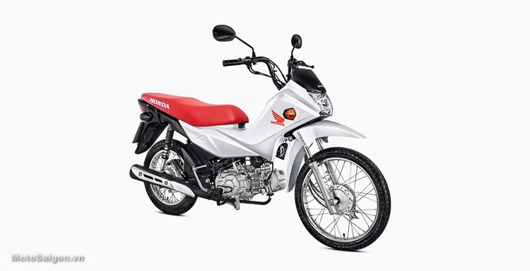 Honda Pop 110i 2019 màu trắng