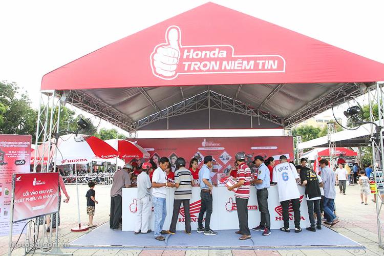 Chuỗi sự kiện Honda trọn niềm tin với 21 tỉnh thành trong tháng 3/2019