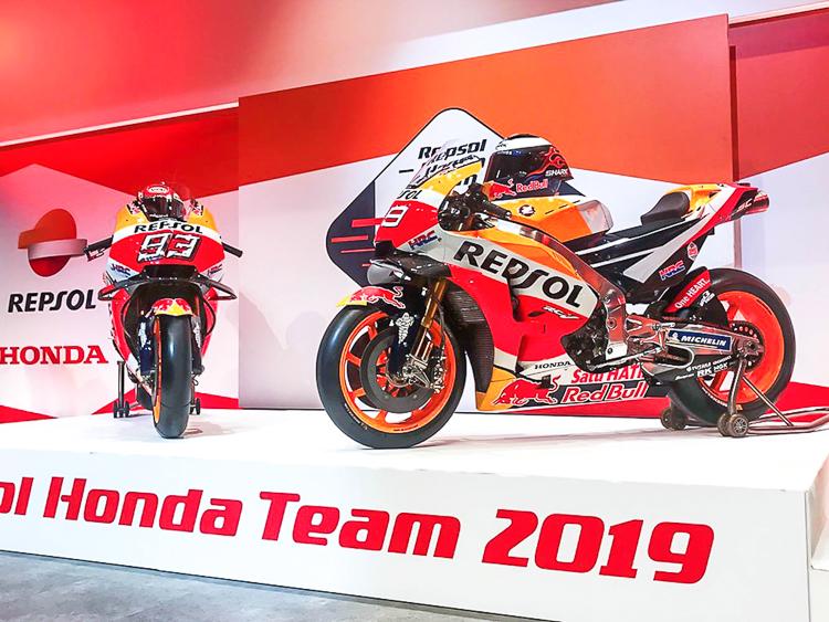 Honda RC213V 2019 - Marquez 93 (Bên trái)