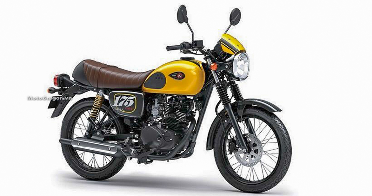 Kawasaki W175 2019 màu Vàng