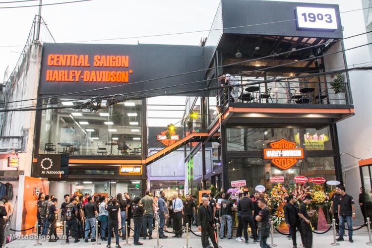 Toàn cảnh Lễ khai trương Showroom Central Saigon Harley-Davidson thứ 4 tại Việt Nam