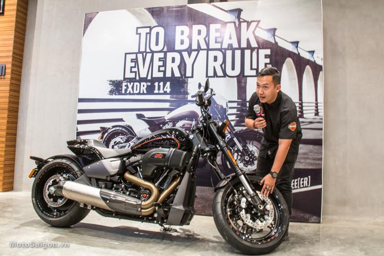 Harley-Davidson FXDR 114 2019 đầu tiên tại Việt Nam có giá bán 799.5 triệu đồng