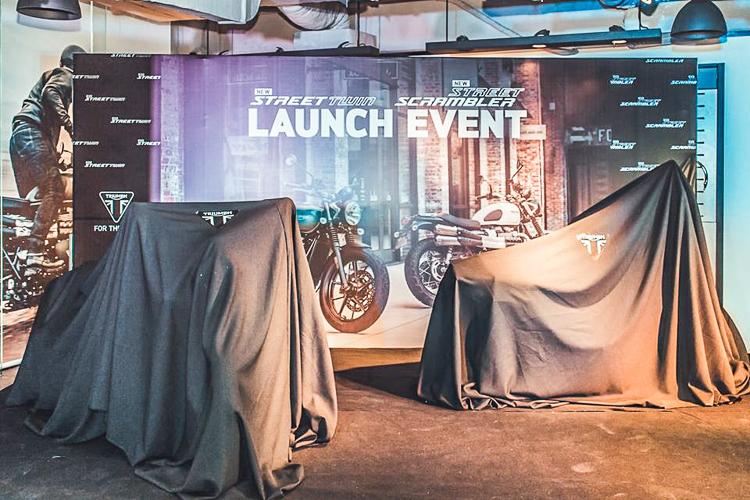 Showroom Triumph Hanoi chính thức ra mắt Street Twin và Street Scrambler 2019