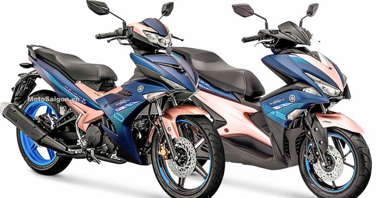 Yamaha Exciter 150/NVX 155 Doxou phiên bản đặc biệt giới hạn
