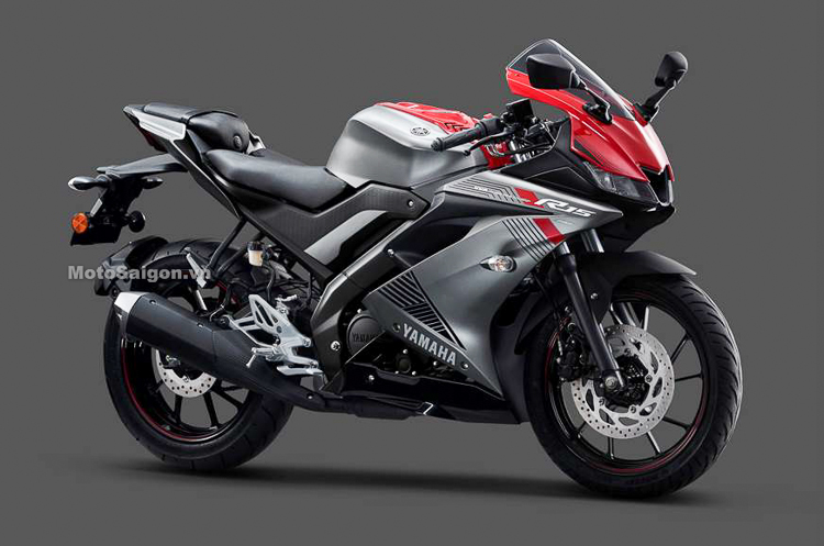 Yamaha R15 vs phiên bản màu đỏ xám
